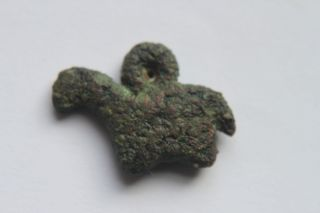 Ancient Luristan Bronze Amulet C.  800 Bc photo