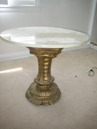 Onyx Top Table Hollywood Regency 26