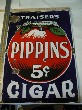 Pippins Cigar Sign Date Of Creation 1910 photo