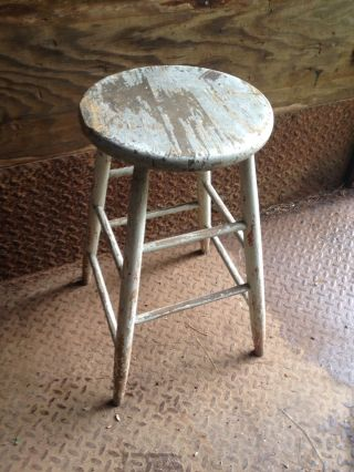 Antique Stool photo
