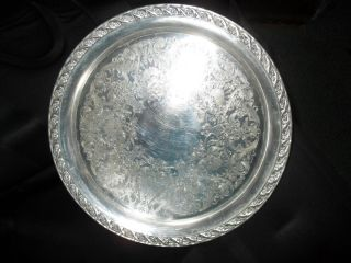 Vintage Silver Plated 10