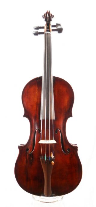 Antique Georgius Thir Anno 1789 Labeled 4/4 Old Master Violin (fiddle,  Geige) photo