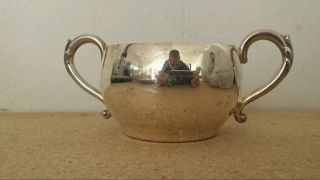 Wm.  A Rogers Silver Sugar Cup photo
