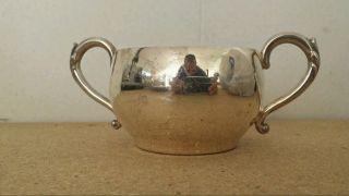 Wm.  A Rogers Silver Sugar Cup photo