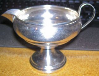 Creamer [paul] Revere Silversmiths Sterling Reinforced With Cement 532 Stamped photo