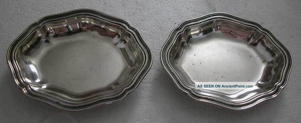 Bargain - 2 Small Antique Silver Plates Other photo