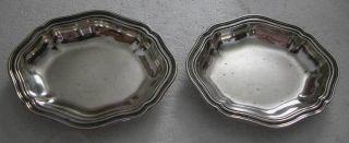 Bargain - 2 Small Antique Silver Plates photo