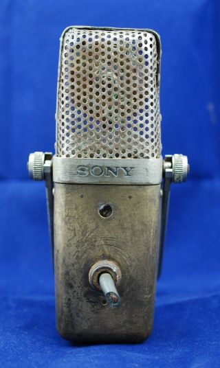 Post - 1958 Vintage Sony Condenser Microphone C37 C37 - A C37 - Fet C37 - P C38 C38 - A photo
