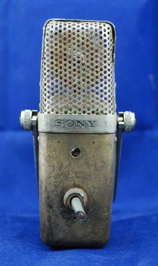 Post - 1958 Vintage Sony Condenser Microphone C37 C37 - A C37 - Fet C37 - P C38 C38 - A photo