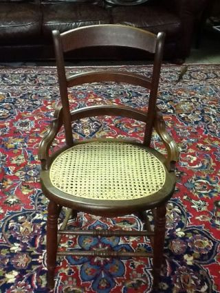 Antique Victorian Eastlake Dining Or Side Chair - From 1800 ' S (?) photo