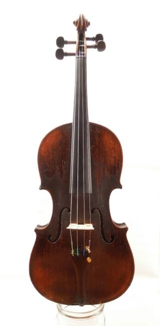 Antique Hungarian Labeled 4/4 Aprox 120 Year Old Master Violin (fiddle,  Geige) photo
