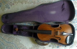 Handmade American Violin - Robert S.  Beeman,  Winsted,  Ct 1928 4/4 - W Bow - Nr photo