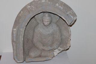Ancient Buddhist Buddha Figure 200/400 Ad God photo