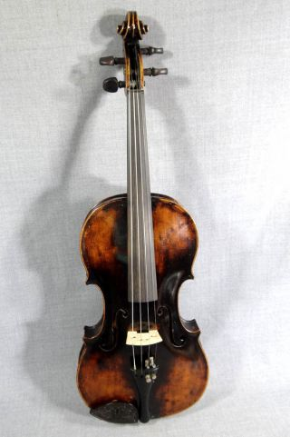Antique Giuseppe Guarneri Guarnerius 4/4 Italian Violin Fiddle Solo Instrument photo