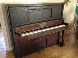 Antique Piano By Horace Waters & Co. photo