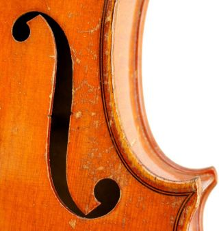 Excellent Antique Markneukirchen German Violin 1928 - Ready - To - Play photo