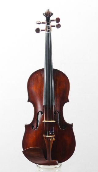 Antique Alessandro Mezzadri Anno 1730 Labeled 4/4 Old Master Violin (fiddle) photo