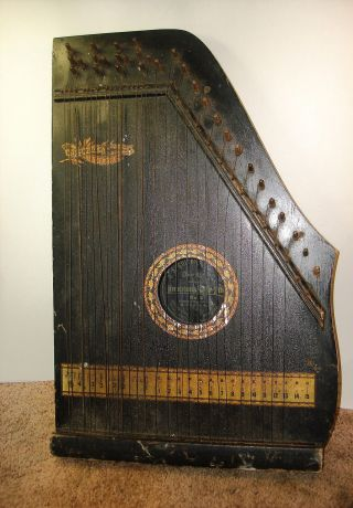 Antique Oscar Schmidt Menzenhauer ' S Guitar - Zither No.  2 1904 Or Earlier photo