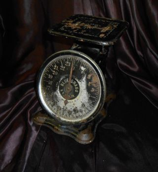 Vintage Bluegrass Belknap Hardware Scale W Decals - Dated 1906 - - Fantastic photo