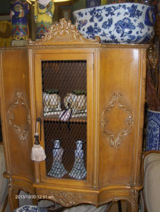 Wow Fabulous Vintage Tall French Chest photo