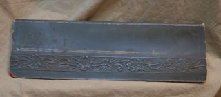 Antique Vintage Embossed Appointment Portfolio Daily Planner photo