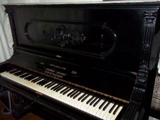 Antique August Forster Upright Piano Buy It Now - Just For You photo