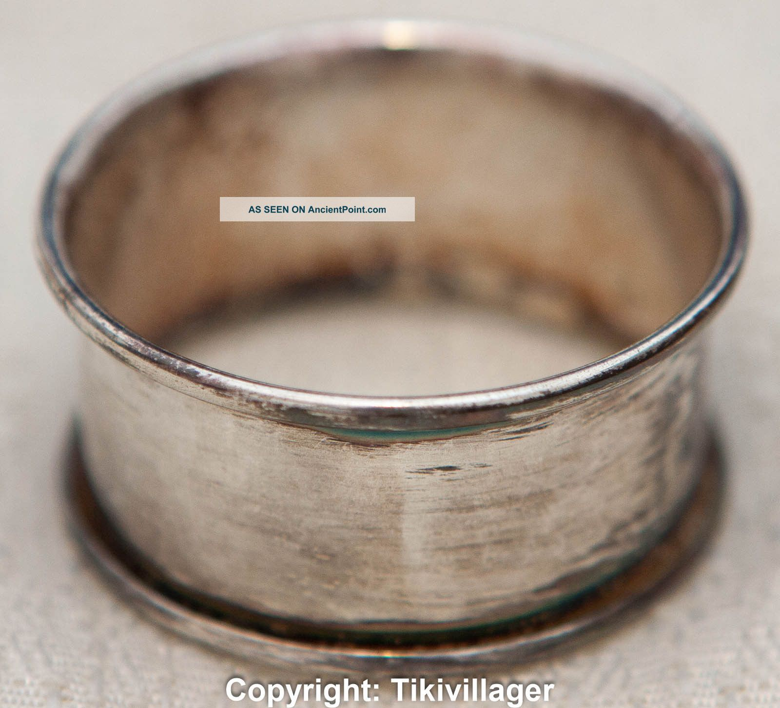 Antique Silver Plated Napkin Ring By Rogers Napkin Rings & Clips photo