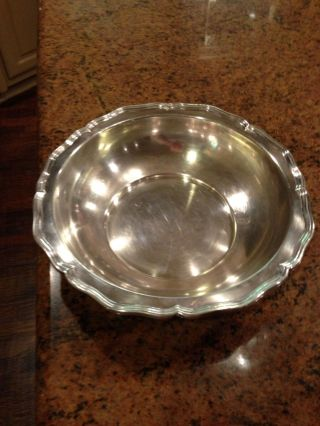 Sterling Silver Tiffany Bowl photo