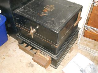 Antique Safe Mccaskey Safe Register Account System