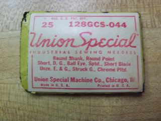 25 Union Special 128gcs 149x3 Size 18 Industrial Sewing Machine Needle Yamato photo