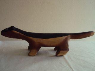 Animal Shaped Wooden Stool photo