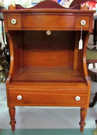 Willett,  Willet Solid Cherry Lamp Table,  Elswick,  1950 ' S,  Louisville,  Ky photo