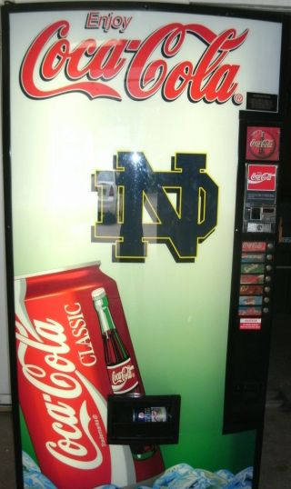 Notr Dame Coke Machine photo