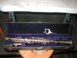 Saprano Clarinet 1930 ' S American With Org.  Case photo