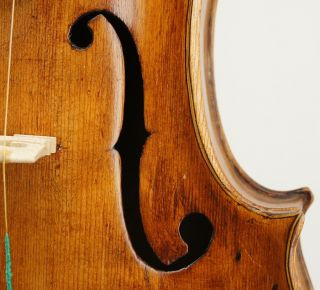 Very Interesting,  Very Old Antique Violin - - Ready To Play photo