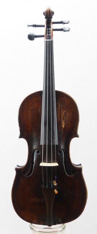 Antique Antonius Thier Anno 1794 Labeled 4/4 Old Master Violin (fiddle,  Geige) photo