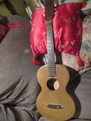 1800 ' S Hand Made Guitar See Pics photo