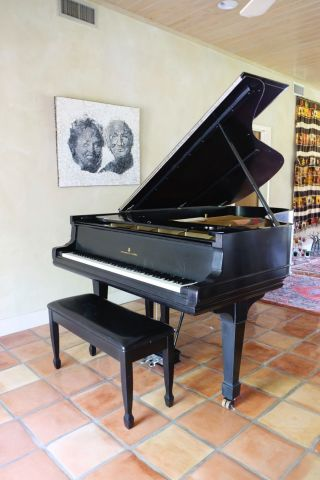 Steinway And Sons,  Antique Grand Piano,  Large,  Model