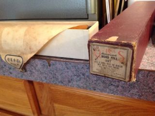 1917 Qrs Atg.  Piano Word Roll 327 It ' S A Long Way To Berlin But We ' Ll Get There photo