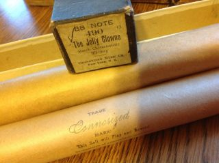 Connorized Music Co.  Piano Roll 88 Note 490 The Jolly Clowns March Whitney 60 C photo