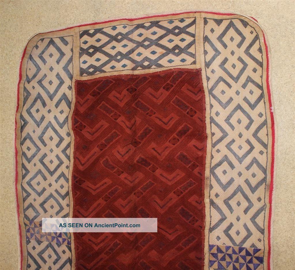 Congo Old African Textile Ancien Tissu D ' Afrique Kuba Afrika Kongo Africa Other photo