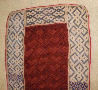Congo Old African Textile Ancien Tissu D ' Afrique Kuba Afrika Kongo Africa photo