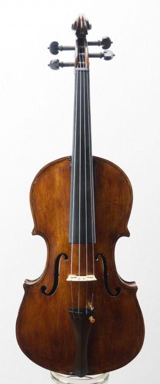 Fine,  Antique 100 Year Old Italian School Violin 4/4 (fiddle,  Geige) photo