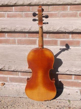 Antique Old Stradi Copy Violin In The Usa photo