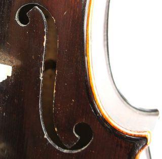 Excellent Antique American Violin By William Conant,  Brattleboro,  Vt C.  1870 photo
