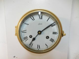 Vintage Schatz Mariner 8 Days German Ships Clock Service Excellent Cond. photo