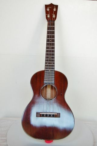 Fine C.  1940 ' S Martin Tenor Ukulele Uke 1 - T Owner Purchased New Excellent W/case photo
