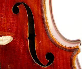 Gorgeous Antique German Violin,  Stradivarius Model,  Mint Condition Ready photo