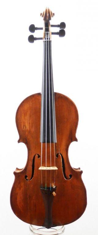 Very Rare,  Antique Italian Old 4/4 School Violin (fiddle,  Geige) photo
