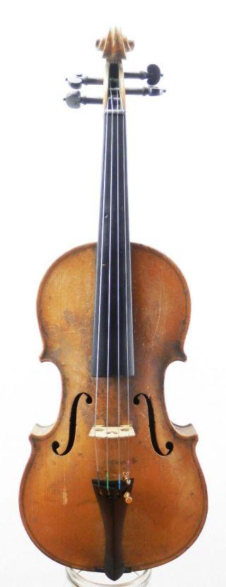 Fine,  Antique 100 Year Old Italian School Violin 4/4 photo